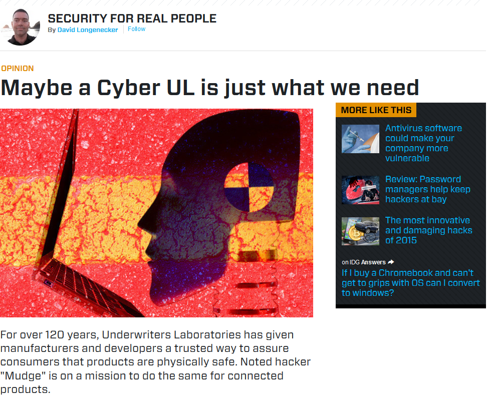 Cyber UL article